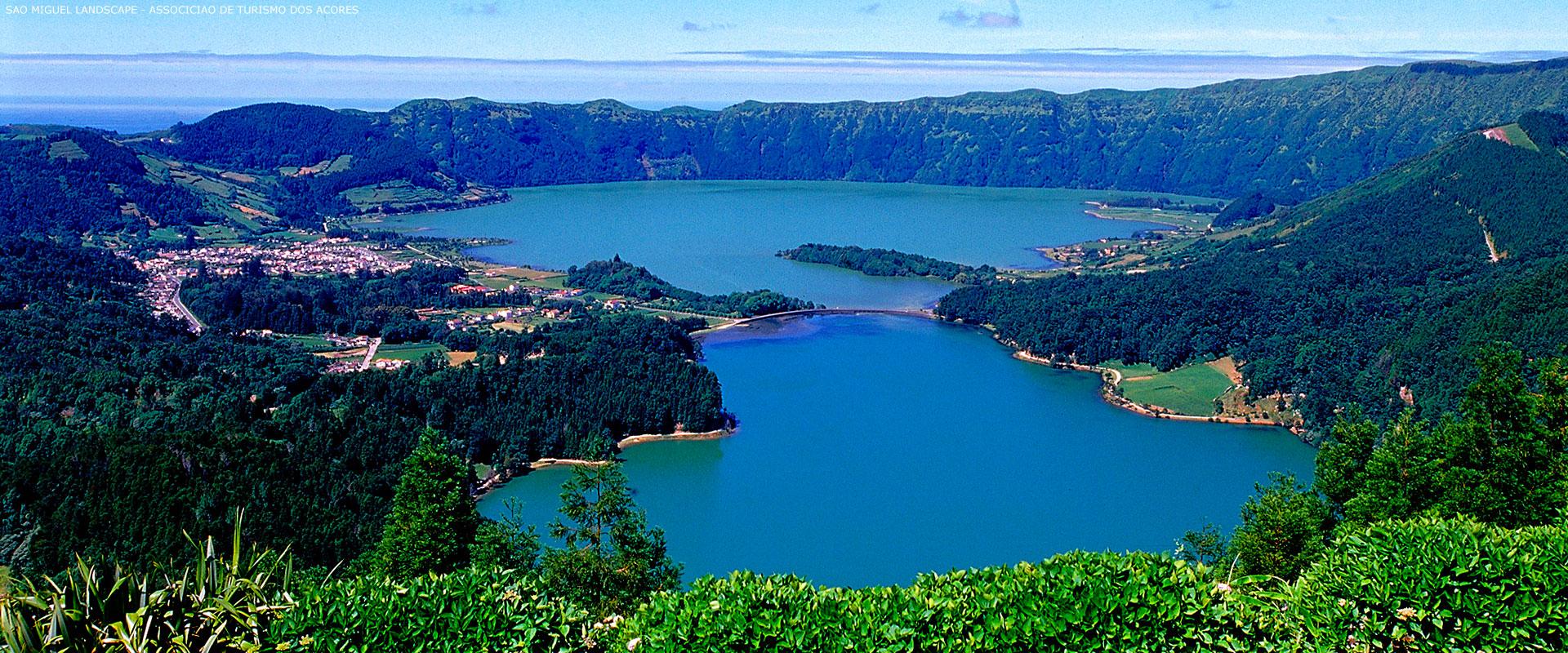 Vandring Pa Sao Miguel Selvguidet Vandreferie I Azorerne