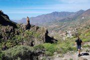 Vandring tæt ved landsbyen La Culata