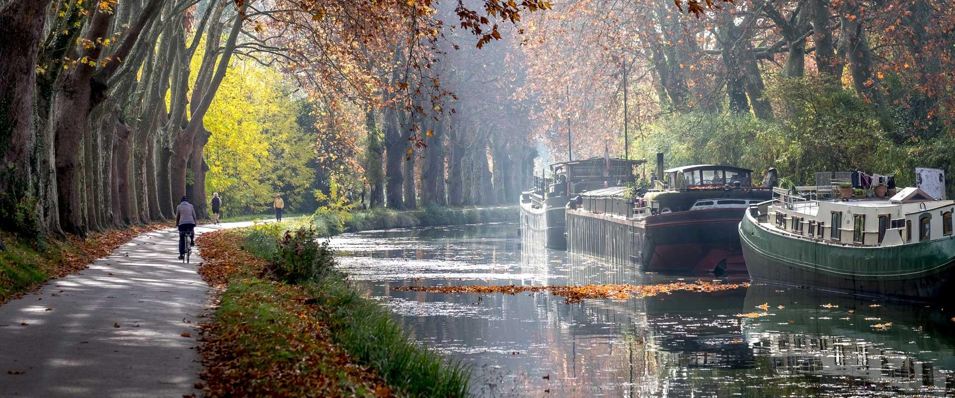 Cykelferie langs Canal du Midi