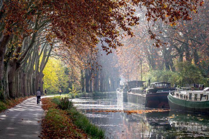 Cykeltur langs Canal du Midi