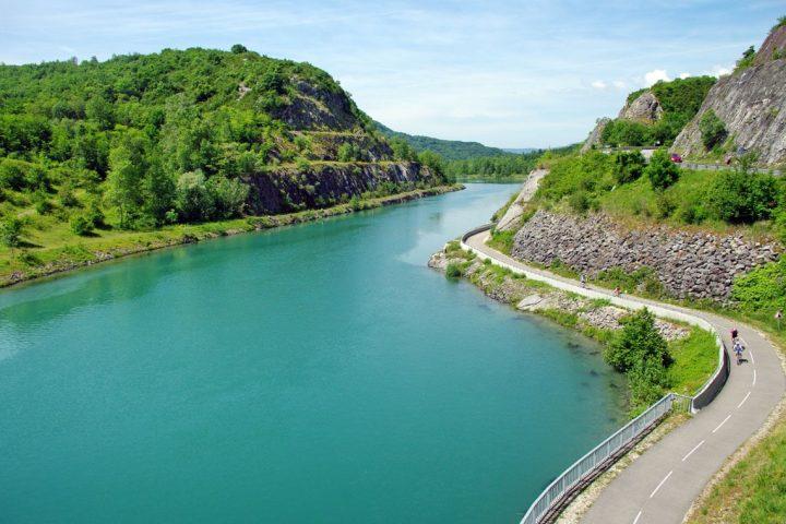 Cykelferie langs Rhônefloden fra Genève til Lyon