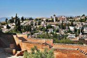 Udsigt over Granada