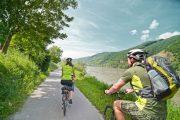Cykling langs Donau (c) Oesterreich Werbung / Beni Mooslechner