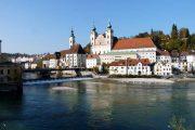 Den charmerende by Enns, Østrigs ældste by