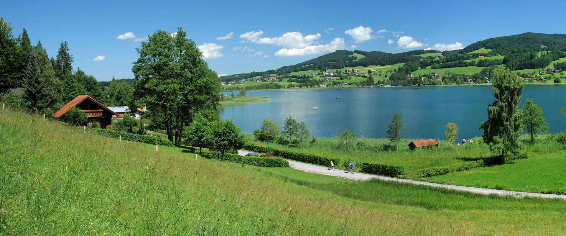 Cykelferie i Salzburger Seenland