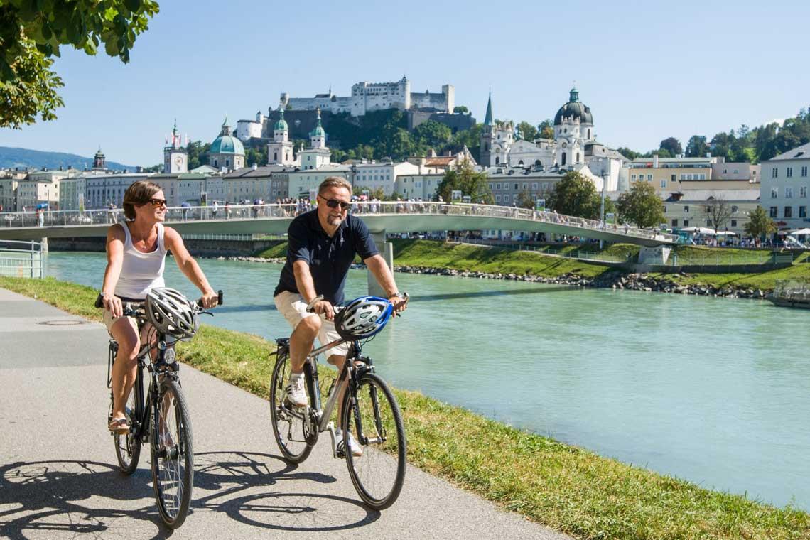 Salzburg cykelferie © Tourismus Salzburg / Reinhart Bryan