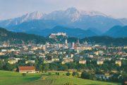 Udsigt til Salzburg og Alperne (c) Oesterreich Werbung / Popp Hackner