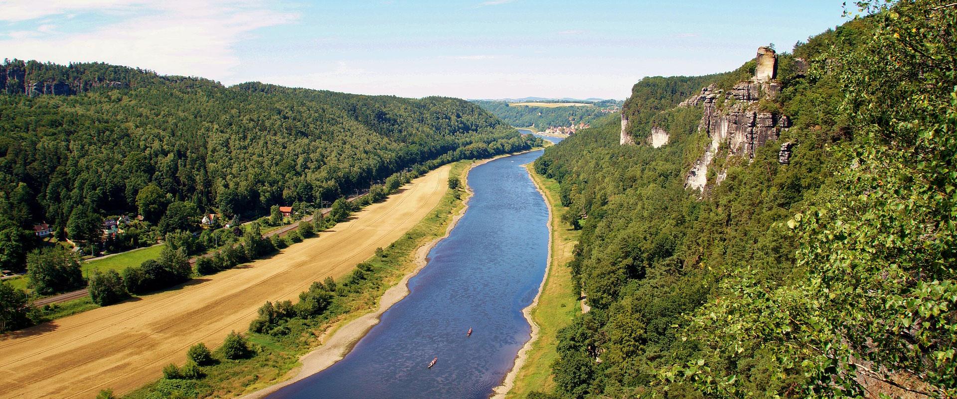 Elberadweg: Bad Schandau-Dessau