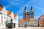 Lutherstadt Wittenberg, hvor Reformationen startede.