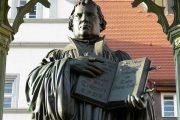 Monument til Martin Luther i Wittenberg