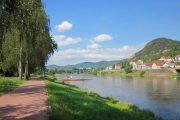 Elberadweg i Tjekkiet