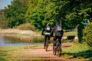 Cykling langs Cher-floden i Loiredalen
