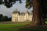Château de Cheverny inspirerede det fiktive Château de Moulinsart i Tintin (i den danske udgave: Møllenborg Slot)