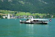 Færge på Wolfgangsee