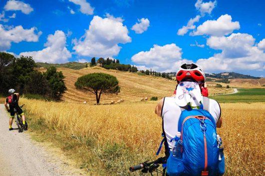Cykelferie i Val d'Orcia, Toscana