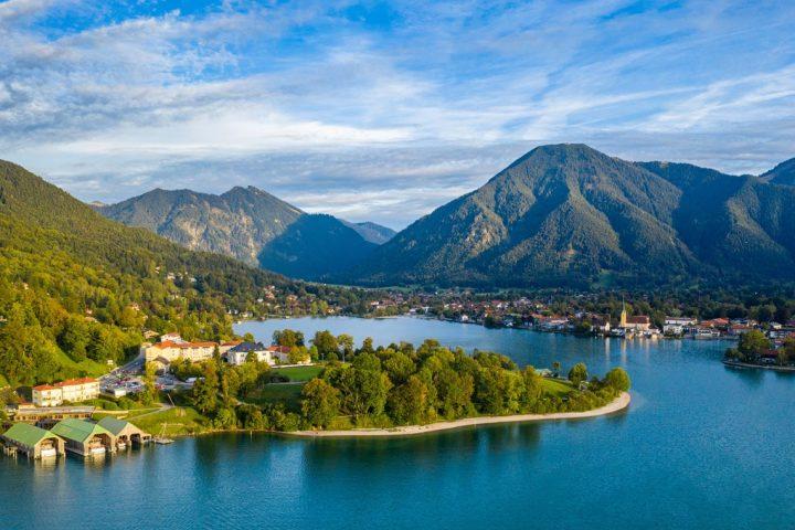 Familievenlig vandreferie fra sø til sø for foden af De Bayerske Alper