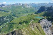 Udsigt over søen Formarinsee i de østrigske Vorarlberg-alper