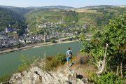 Udsigt over Rhinen til Bacharach