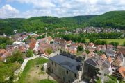 Landsby i Altmühl-dalen