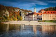 Det smukke Weltenburg-kloster, der huser verdens ældste klosterbryggeri