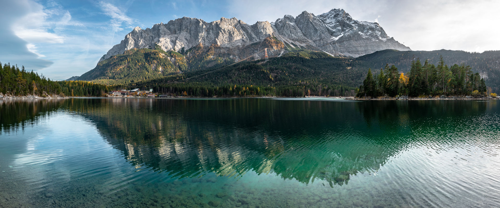 Alperne: Rundvandring om Zugspitze