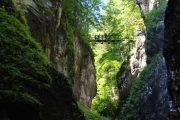 Vandring gennem Partnach-kløften