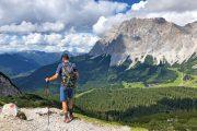 Vandring med flot udsigt til Zugspitze